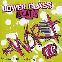 "Lower Class Brats ""Worst"" 7-inch *color vinyl*"