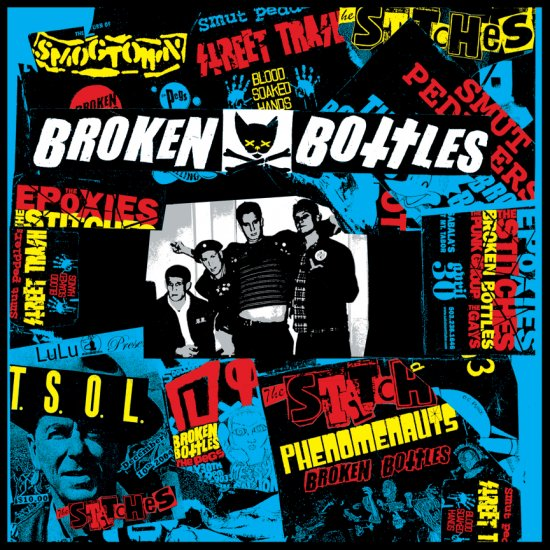 "Broken Bottles ""Suburban Dream"" 7-inch *color vinyl*"