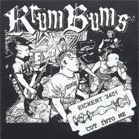 "Krum Bums ""Cut Into Me"" 7-inch *solid blue vinyl*"