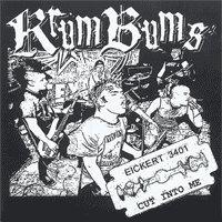 "Krum Bums ""Cut Into Me"" 7-inch *tan vinyl*"