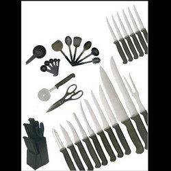 36pc Knife/Block/Utensil Set