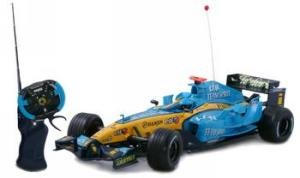 Remote Control Formula 1 Car Renault F1 Team 1:12 Scale