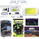 Sony Psp Limited Edition Ceramic White Value Bundle