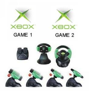 Xbox Racing Bundle - 2 Games Plus 1 Wheel