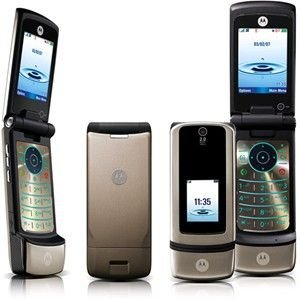 Motorola K3 Dark Pearl Gray Triband Unlocked Tri-Band Phone