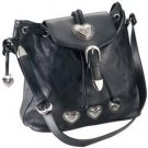 Embassy™ Italian Stone™ Design Genuine Leather Shoulder Bag