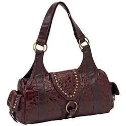 Embassy� Genuine Leather Burgundy Purse