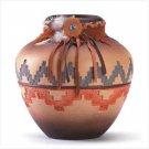 Ceramic Southwest Vase-6 3/4