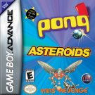 Asteroids/Pong/Yars Revenge- GBA