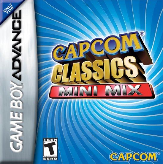 CAPCOM CLASSICS MINI MIX GBA