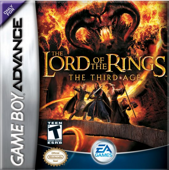 LORD OF THE RINGS 3RD EDTN GBA