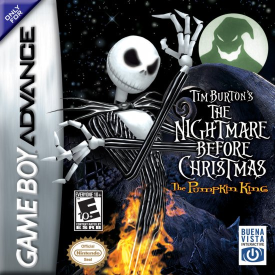 Nightmare Before Christmas - GBA