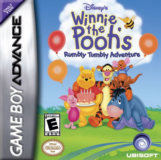 Winnie The Pooh Rumbly Tumbly Adv - GBA