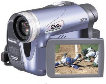 Panasonic Pv-Gs19 Minidv Camcorder With 24x Optical Zoom