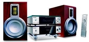 Philips Mcd708-37 Micro Home Theater System With Dvd And Ipod Connectivity