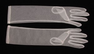 Sheer Ivory Gloves GL92395