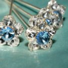 Bella Blue Hair Pins HP23150