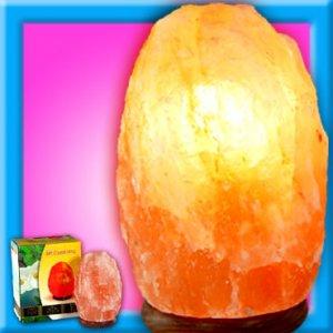 Himalayan Salt Table Lamp Natural Ionizer 7 to 10 Lbs