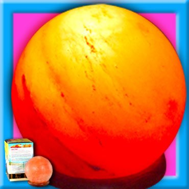 GLOBE SHAPE Ionic Lamp Healthy Glowing Colour Therapy