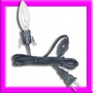 6' LIGHTING CORDS WITH Super EASY CLIP-ON SOCKET & BULB