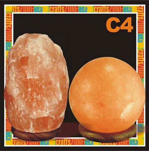 Himalayan Salt Table Lamps - C4