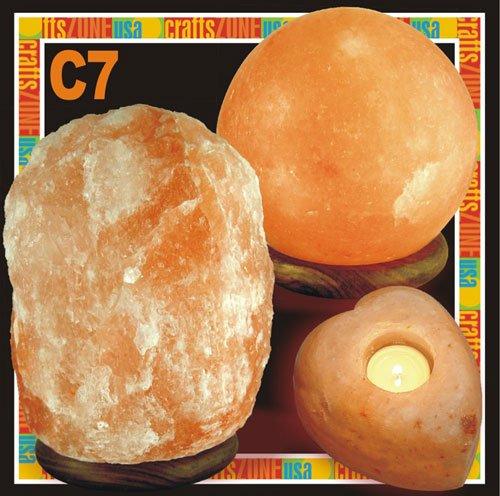 Himalayan Salt Table Lamp - Tealight - C7