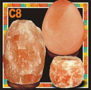 Himalayan Salt Table Lamp - Tealight - C8