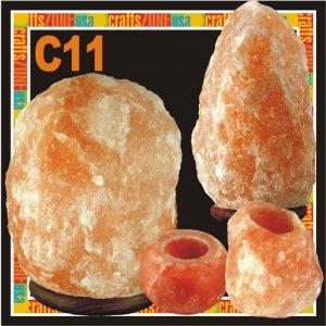 Himalayan Salt Table Lamp - Tealight - C11