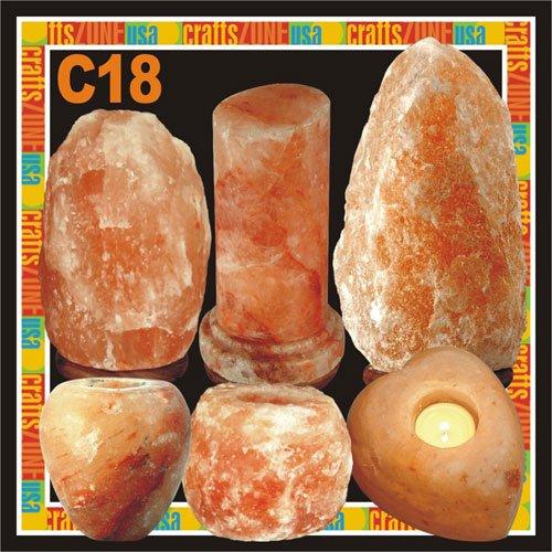 Himalayan Salt Table Lamp - Tealight - C18
