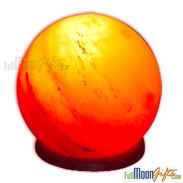 New Premium Quality Himalayan Rock Salt Lamps Globe Shape 8~10Lbs