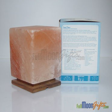 New Premium Quality Himalayan Rock Salt Lamps Rectangular Shape 8~10Lbs