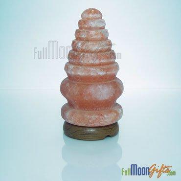 New Premium Quality Himalayan Rock Salt Lamps Pine Shape 6~8 Lbs