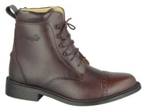 GL LADY LACED PADDOCK BOOTS English HorseRiding Brown 6