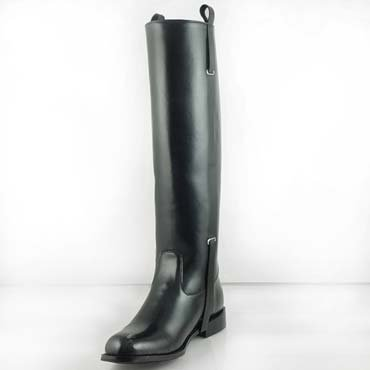 """DIGNITY Womens Fashion Motorcycle 17"""" Tall Knee High Motorcycle Boots"""