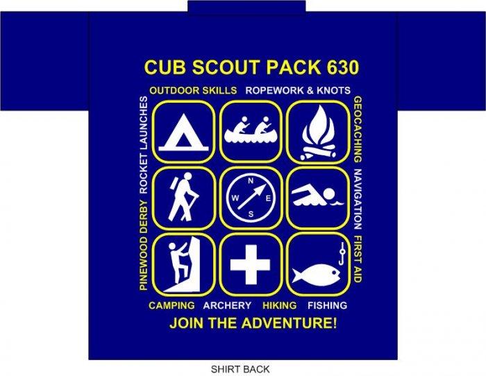 Pack 630 T-Shirt, Adult Medium
