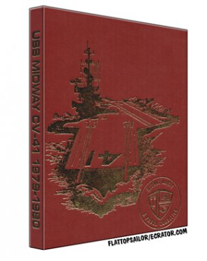 1979 - 1980  USS Midway (CV-41) Cruise Book on CD