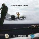 USS Midway Squadron VA-56 Champions (8x12) Photograph