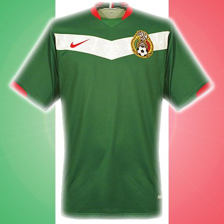 Mexico's home jersey