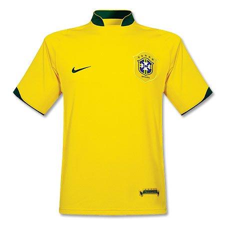 Brazil's home jersey
