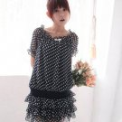 Dot Chiffon Tops/ Dress
