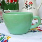 Vintage 1950s JADEITE FIRE KING RESTAURANT WARE COFFEE CUP Jadite