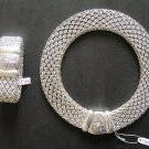 necklace and bracelet set /silver plated /NWT