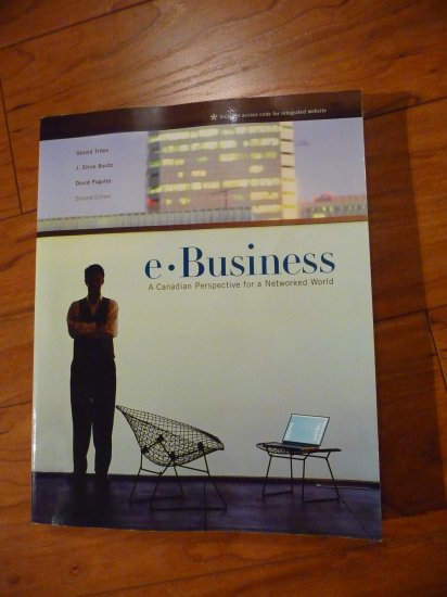 USED - e-Business: A Canadian Perspective for a Networked World