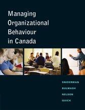NEW - Managing Organizational Behaviour in Canada