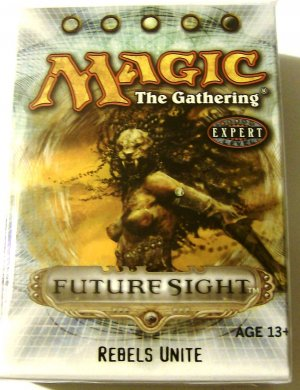 black Magic The Gathering Rebels Unite Future Sight MTG Theme Deck