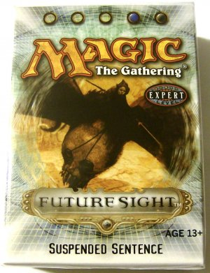 Magic The Gathering Suspended Sentence Future Sight blue and black MTG Theme Deck