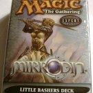 Magic The Gathering Little Bashers Mirrodin white Theme Deck MTG