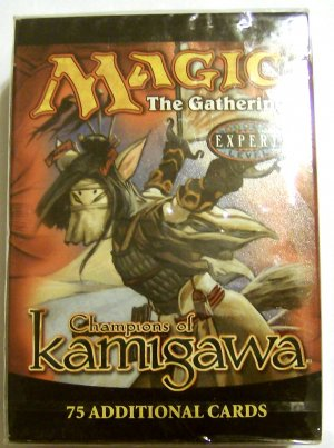 Magic the Gathering Champions of Kamigawa MTG Tournament Pack