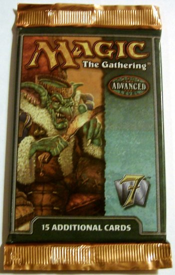 Magic the Gathering 7th edition booster pack MTG