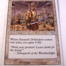 Magic the Gathering Staunch Defenders 45/350 White Uncommon MTG 6th Edition Card